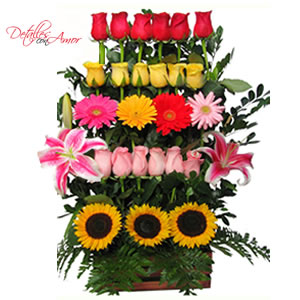 Detalles Con Amor Arreglos Florales Rosas Naturales